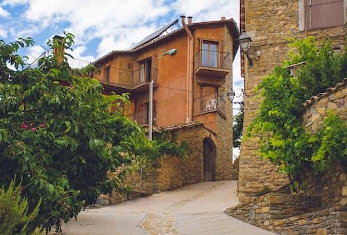 Free stock photo of catalunya, cobblestone, españa, hill