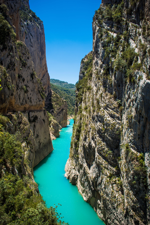 Free stock photo of adventure, canoeing, canyon, catalunya