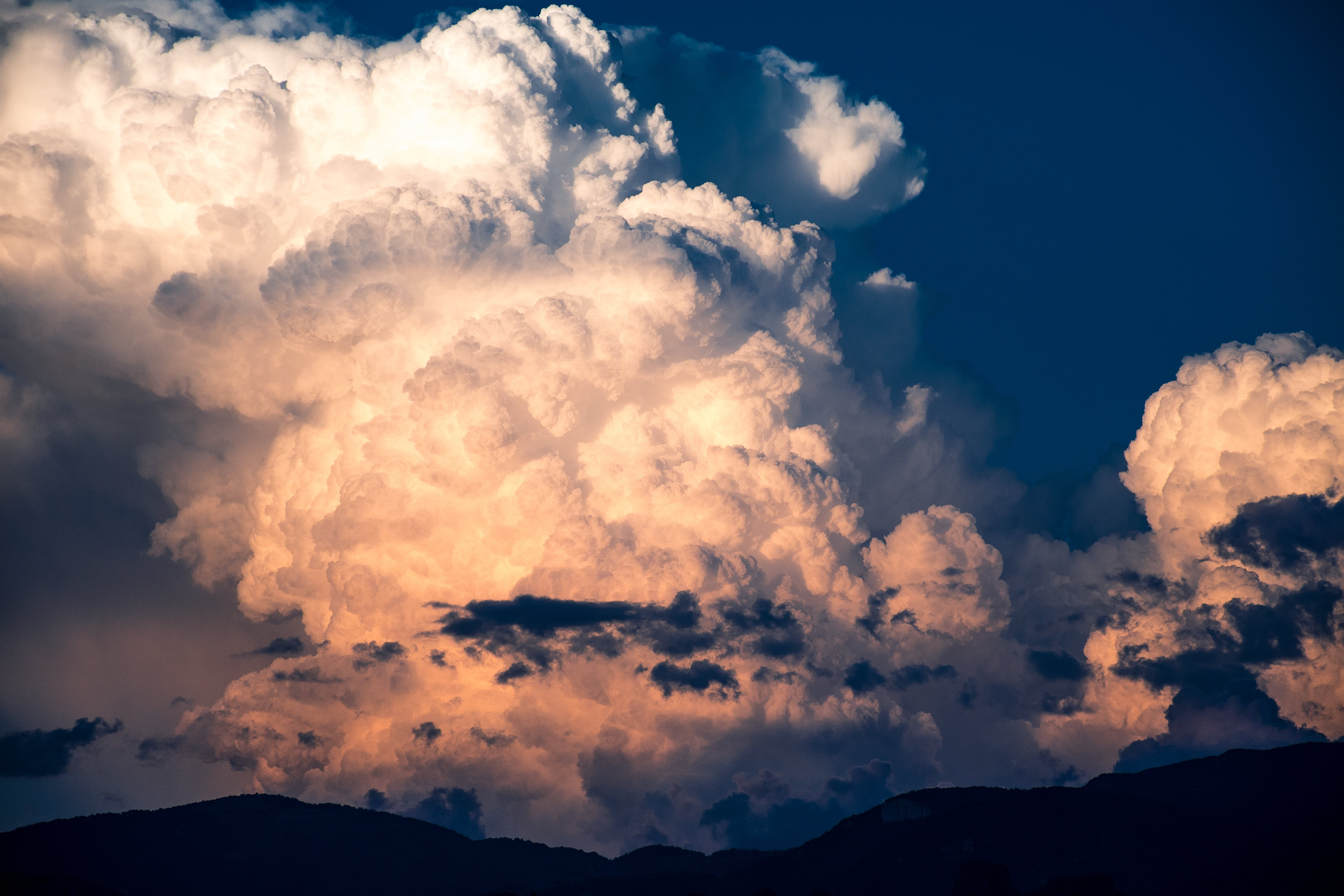 Panoramic Photography of Clouds