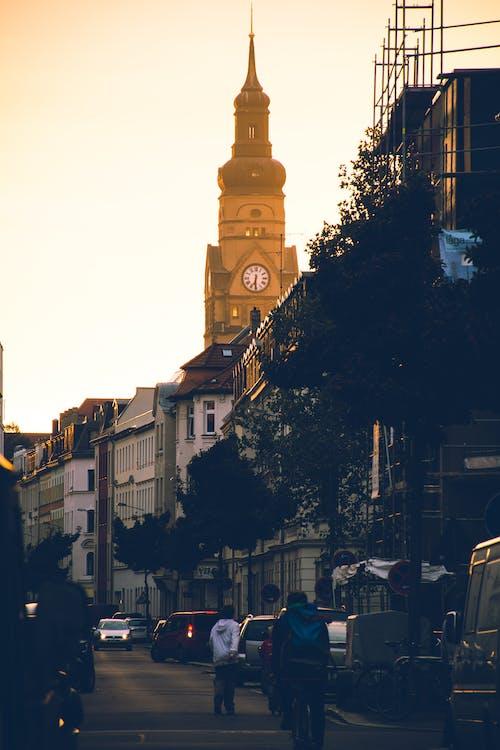 城鎮, 塔, 大教堂, 市中心 的 免費圖庫相片