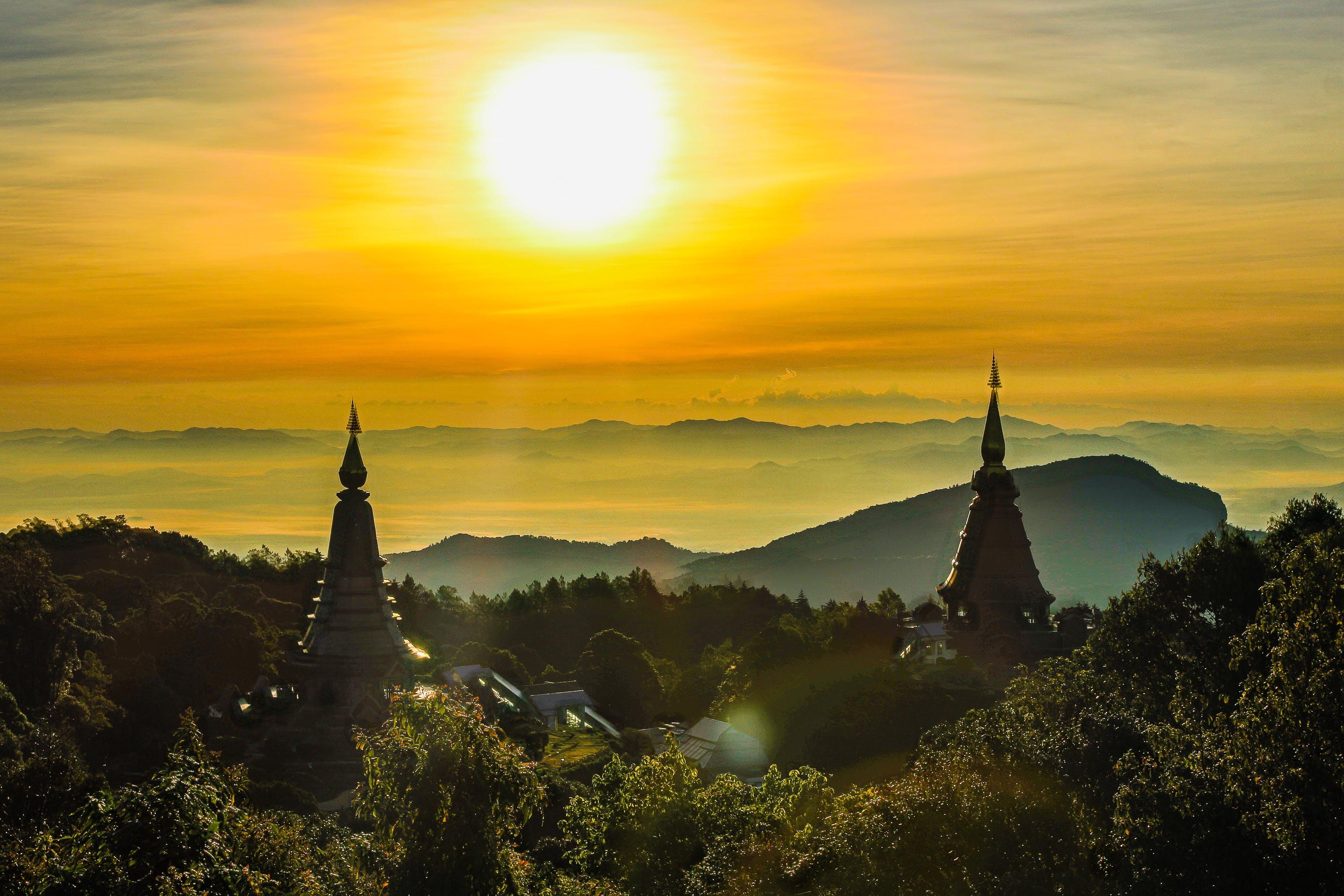 アジア, タイ, チェンマイ, 古代の無料の写真素材
