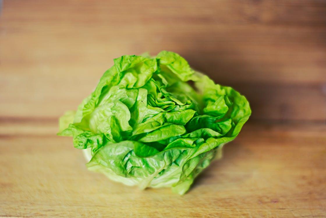 green, healthy, lettuce