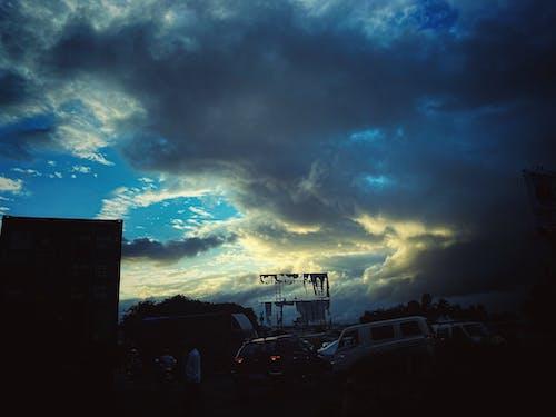 Free stock photo of atmospheric evening, beautiful sky, blue background