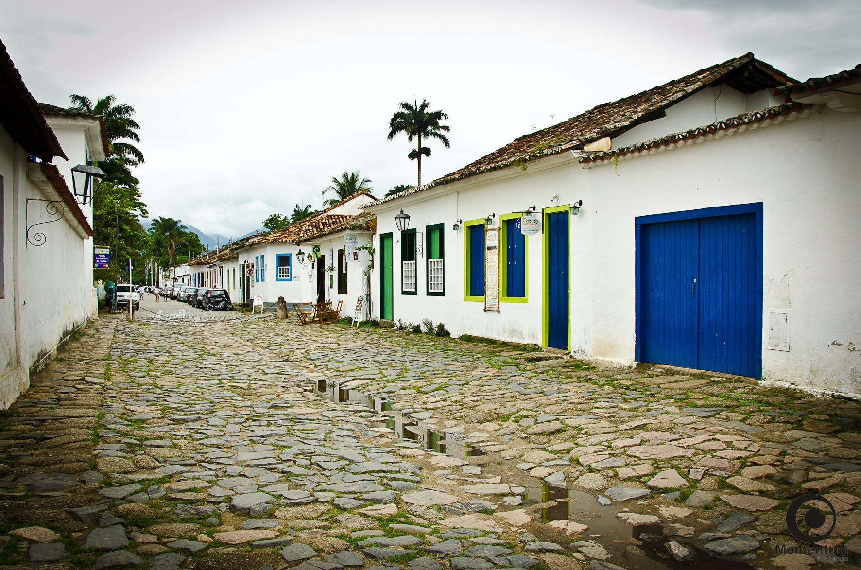 Free stock photo of Paraty old street