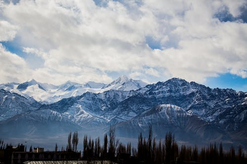 Бесплатное стоковое фото с вид, высокий, Высота, горный хребет