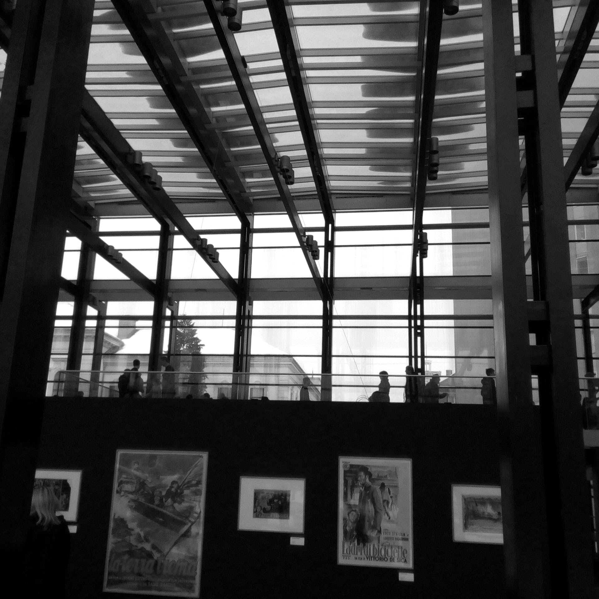 Free stock photo of art exhibition, black and white, exhibition