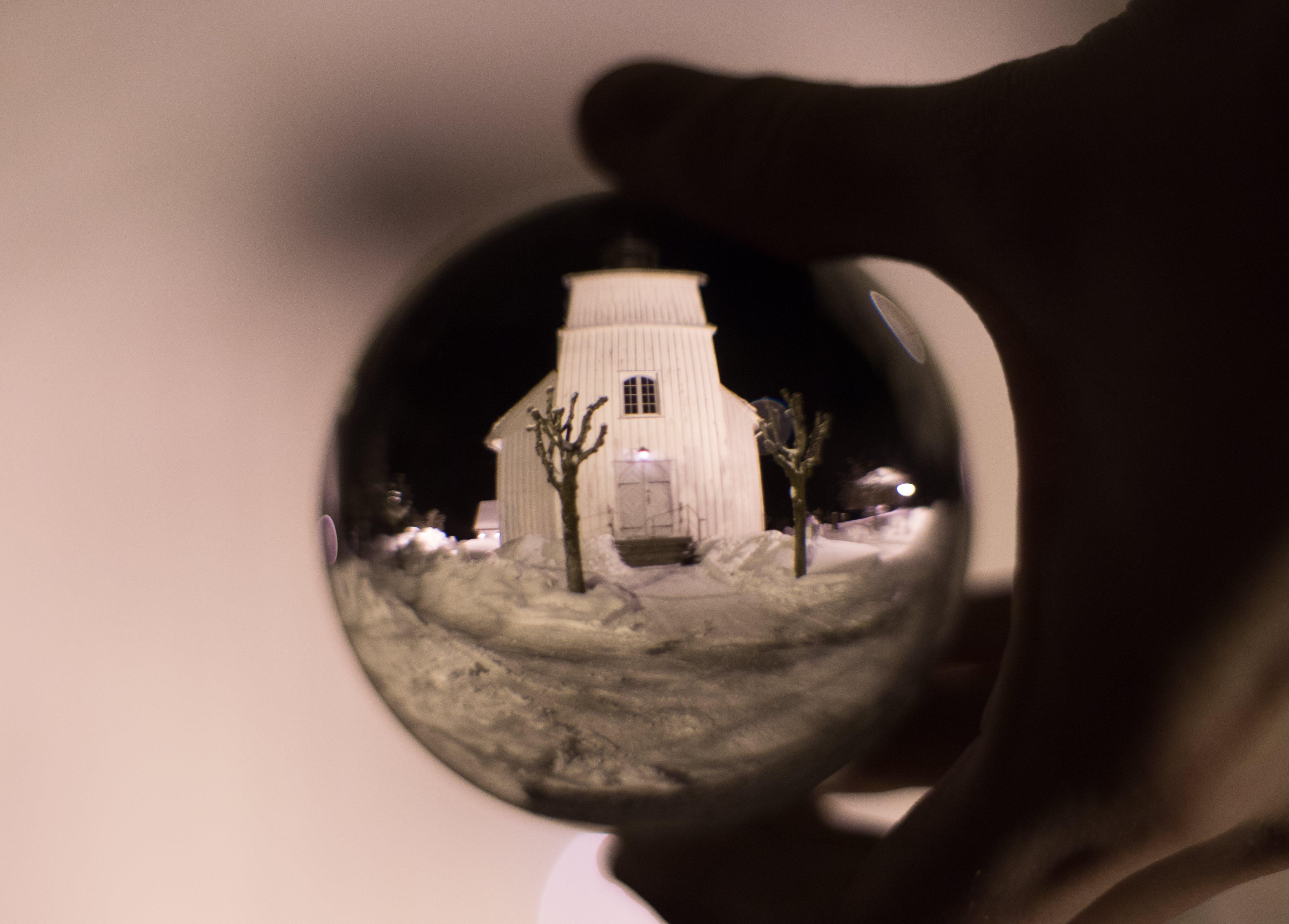 Photos gratuites de architecture, art, boule de cristal, brouiller