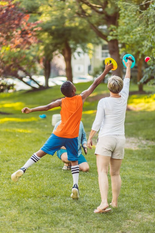 2 Boys Playing Soccer