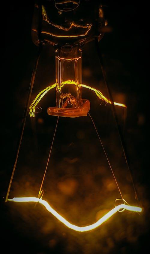 Free stock photo of bulb, dark, electric lights