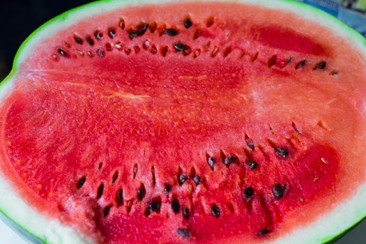 Close-up Photo Of Sliced Watermelon