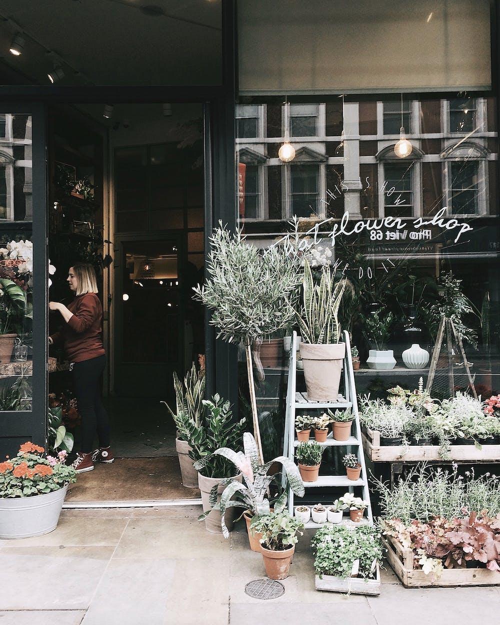 A flower shop | Photo: Pexels
