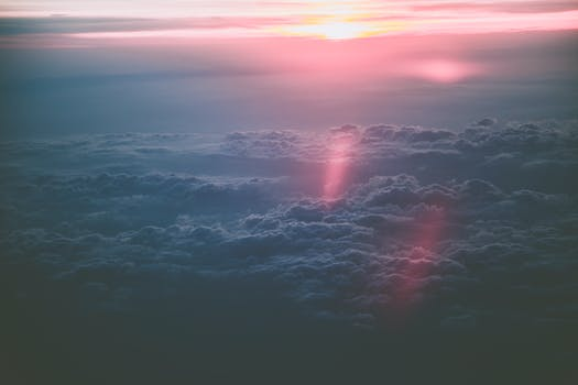View of Clouds during Sunset