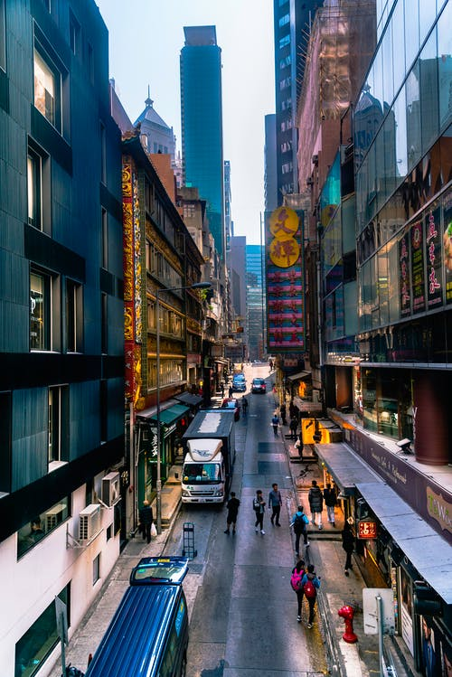 Photos gratuites de vision de rue