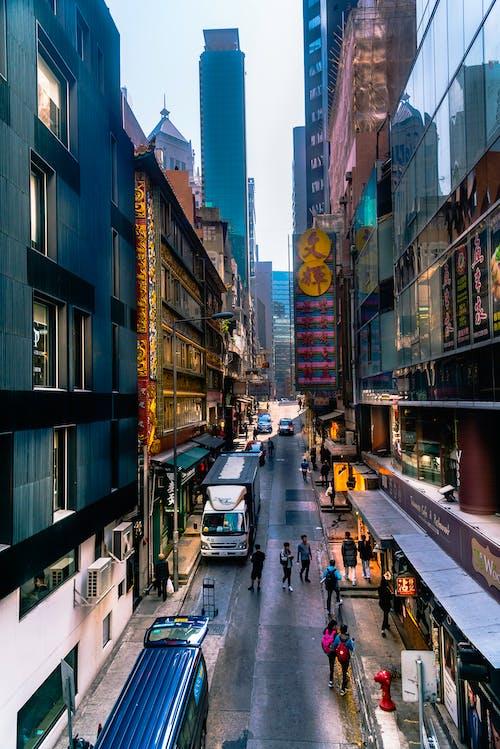 Immagine gratuita di visione di strada