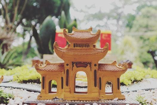 Brown Castle Miniature