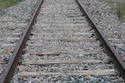 Foto profissional grátis de trilho do trem