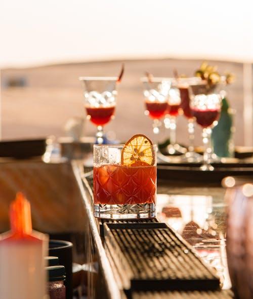 アルコール飲料, カクテル, ガラスの無料の写真素材