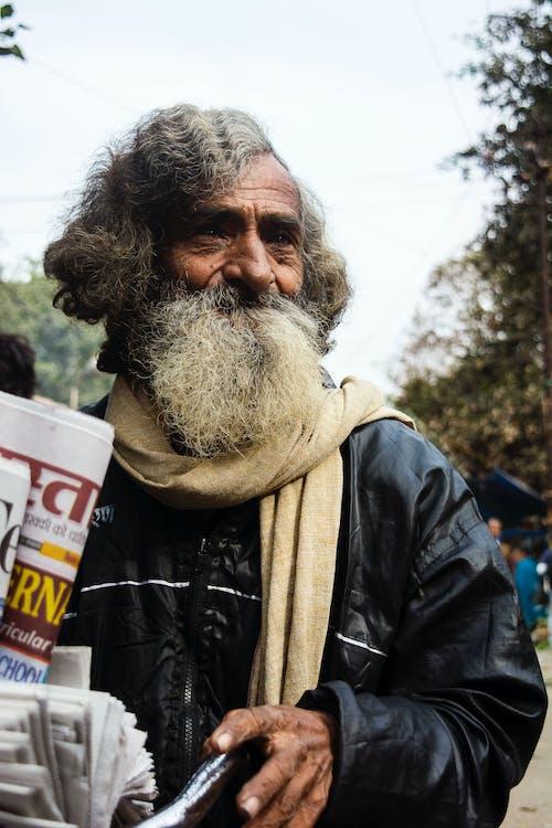 Бесплатное стоковое фото с волосатый, дед, деревня, красивая