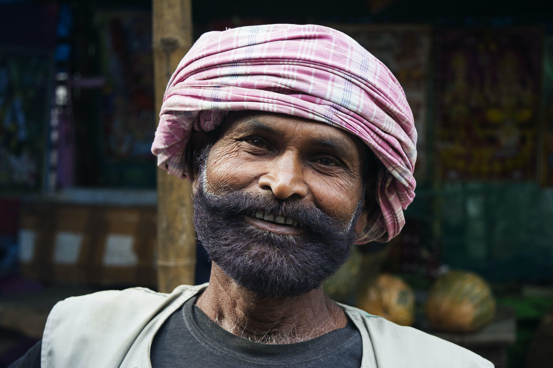 Základová fotografie zdarma na téma dívání, knír, muž, náboženství