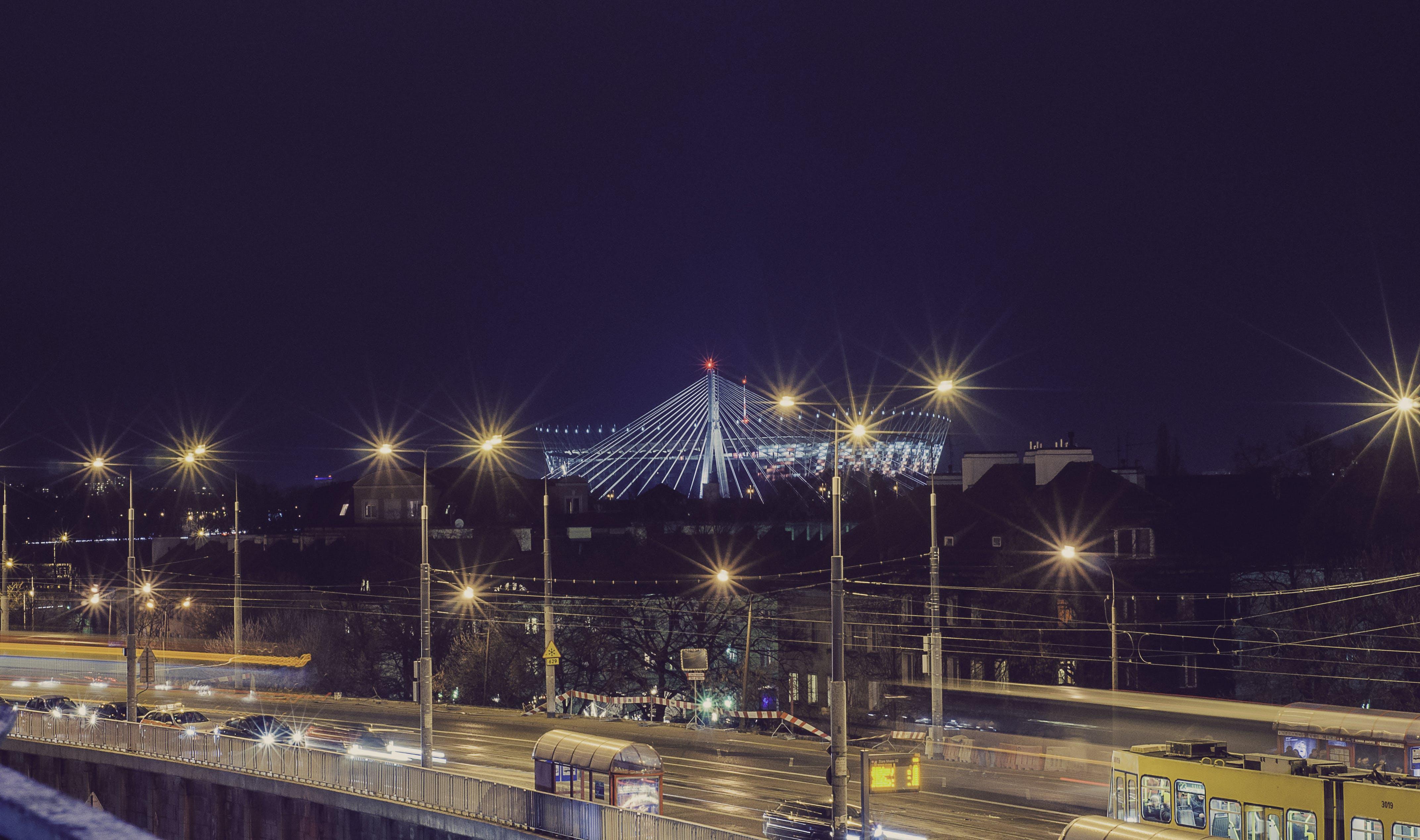 Warsaw Night Street