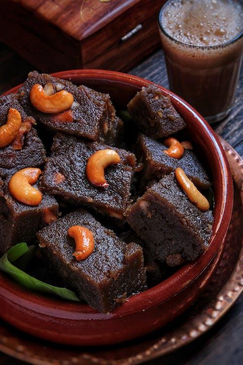 ahşap, çikolata, ev yapımı içeren Ücretsiz stok fotoğraf