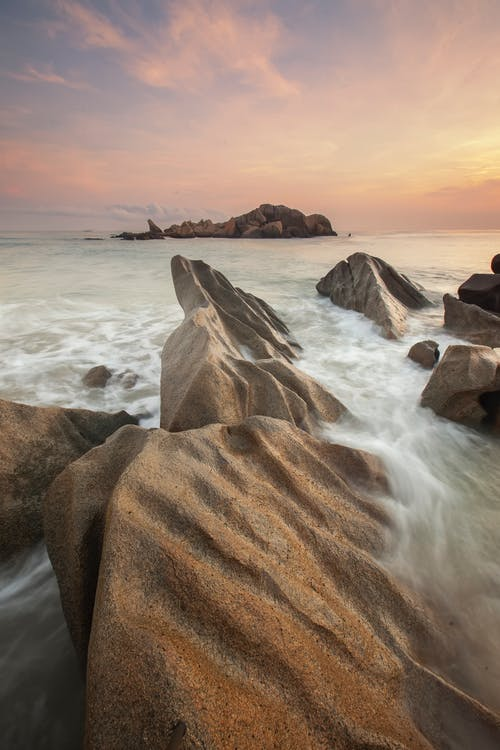 Gratis lagerfoto af flow, formation, havudsigt, natur