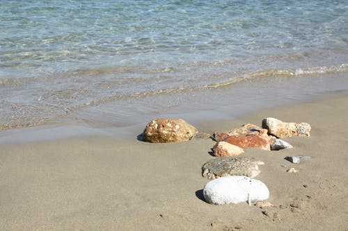 Imagine de stoc gratuită din faleză, fundal de plajă, iubitor de plajă