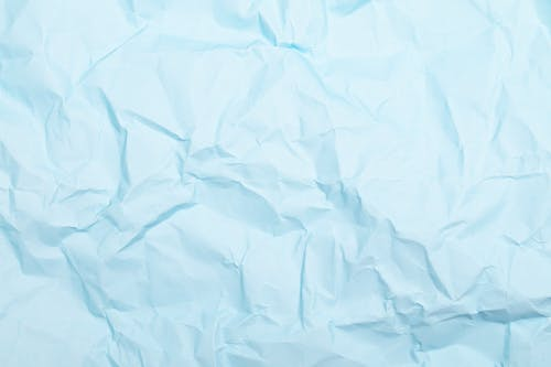 Crumpled Blank White Paper