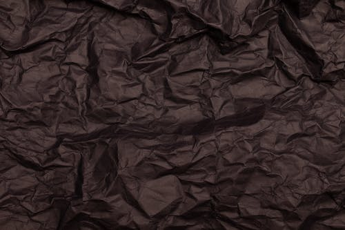 Close-up Photo of Crinkled Brown Paper