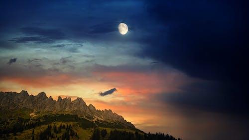 Безкоштовне стокове фото на тему «гори, ефектне небо, краєвид»