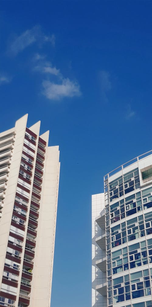 Free stock photo of apartment buildings