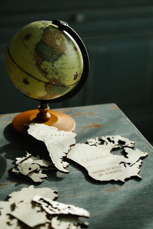 Free stock photo of atlas, ball-shaped, business