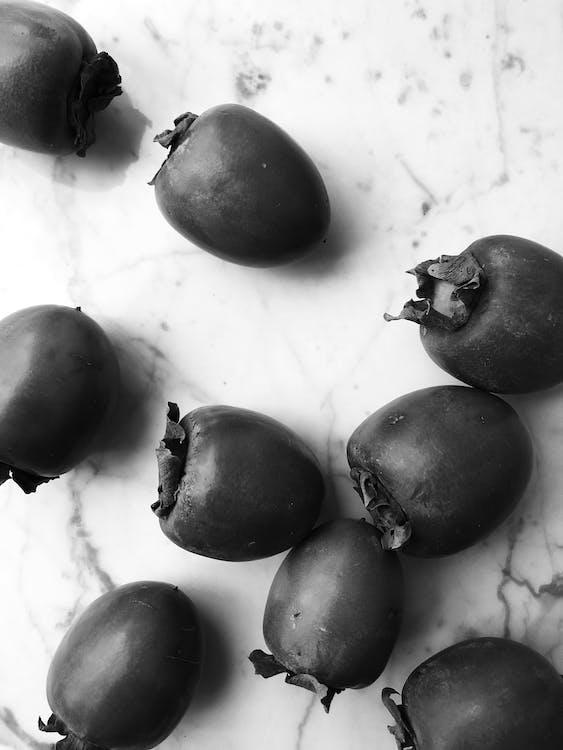 Foto profissional grátis de caquis, frutas, frutos