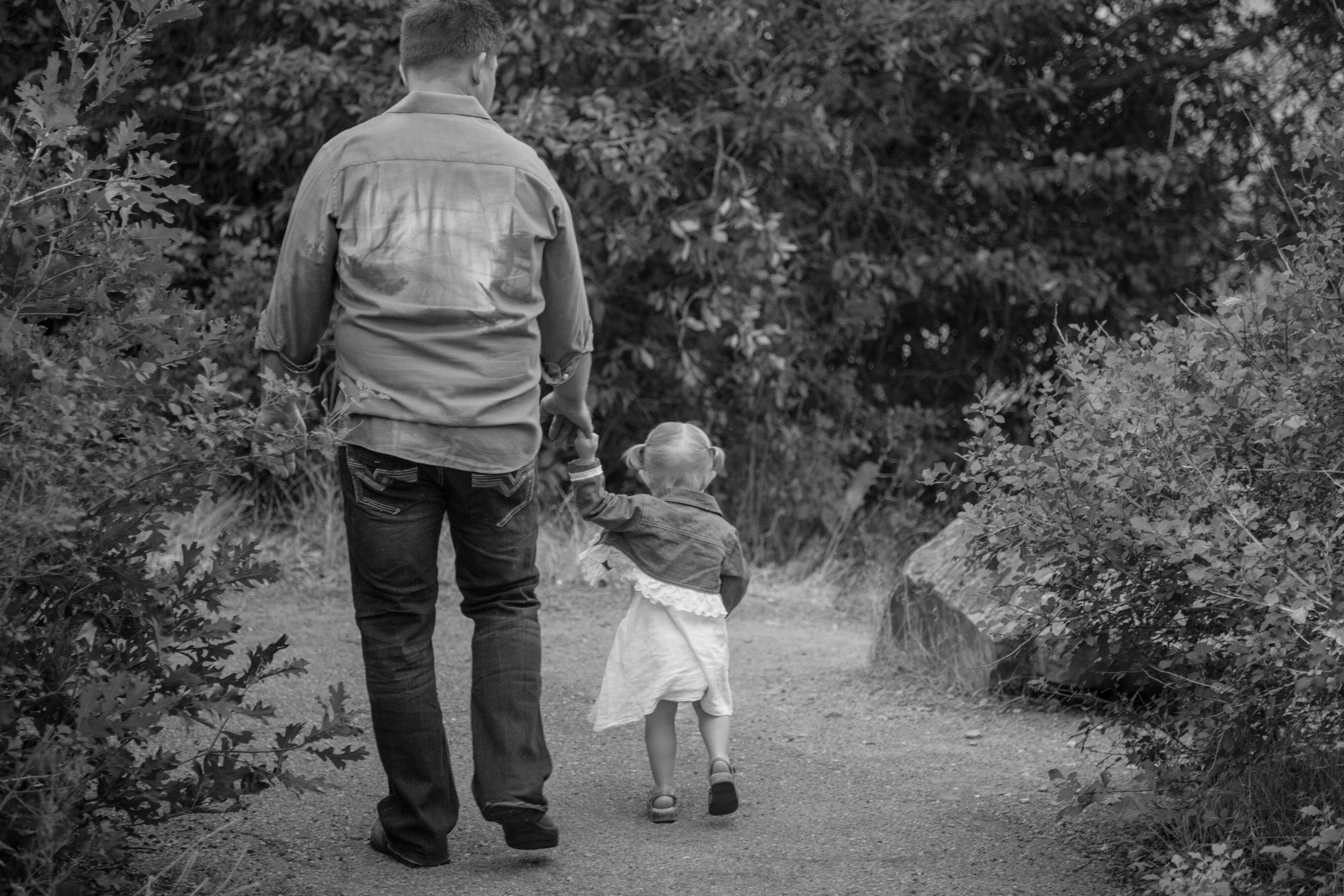 Free stock photo of b&w, baby, black and white, child