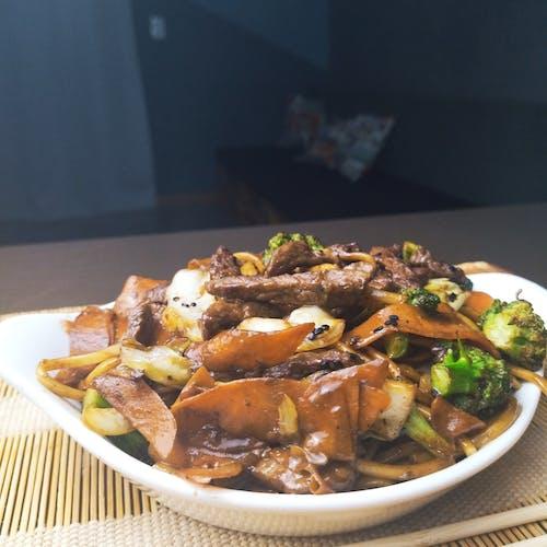 Free stock photo of oriental food, yakisoba, yakissoba