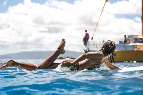 Free stock photo of action, action energy, bikini