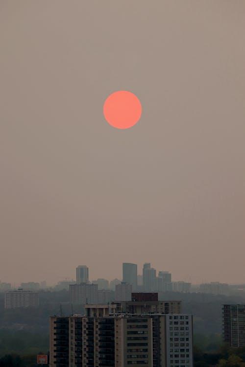 city_skyline, ンーン, 仙境 的 免费素材图片