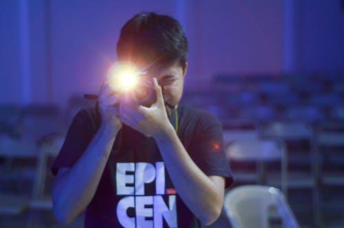 Kostnadsfri bild av kamera