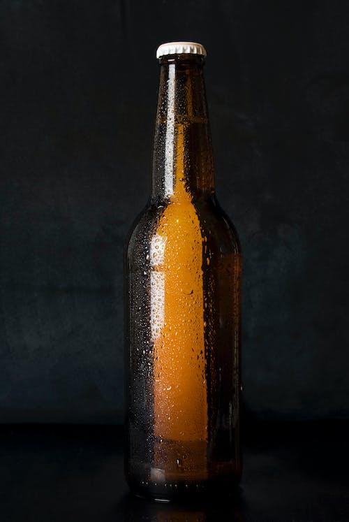 冷, 啤酒, 滴, 瓶子 的 免費圖庫相片