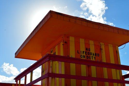 Fotobanka sbezplatnými fotkami na tému červená, clo, Miami, obloha