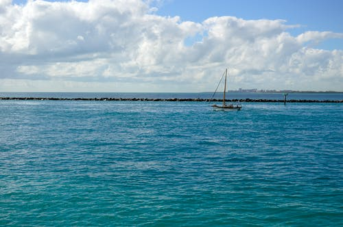 Fotobanka sbezplatnými fotkami na tému breh, horizont, kamene, loď