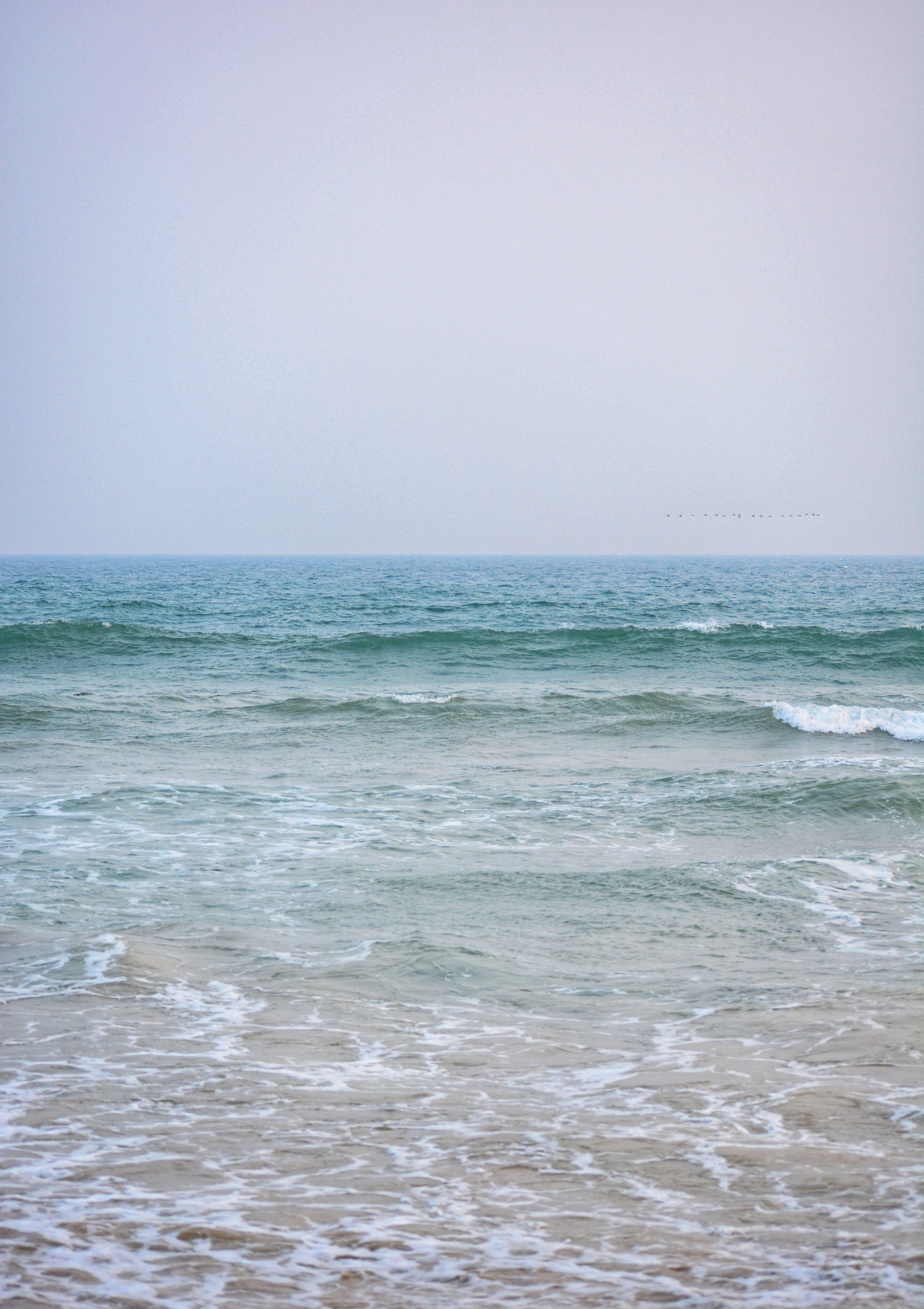 Free stock photo of blue, blue water, deep ocean, HD wallpaper