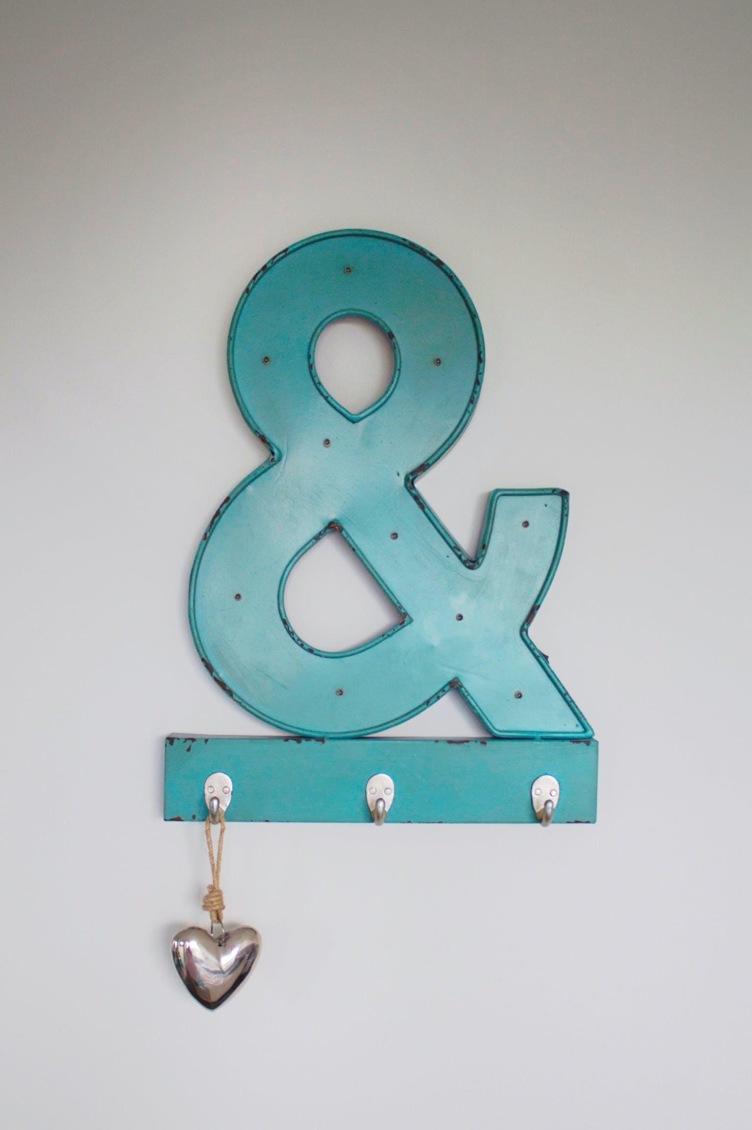 Free stock photo of &, decor, decoration, design