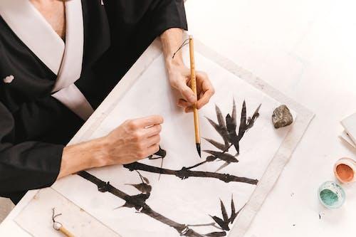 Kostenloses Stock Foto zu bambus, bambus pinsel, fähigkeit