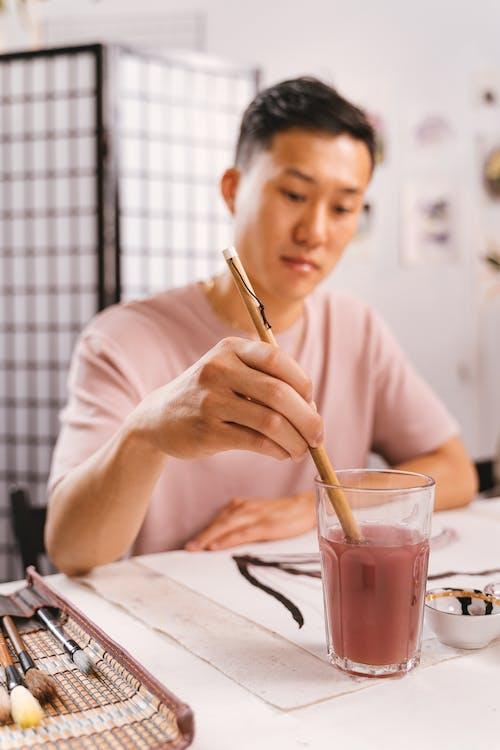 Darmowe zdjęcie z galerii z azjatycki, farba, kreatywność
