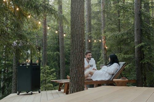 Gratis stockfoto met badjassen, bomen, Bos