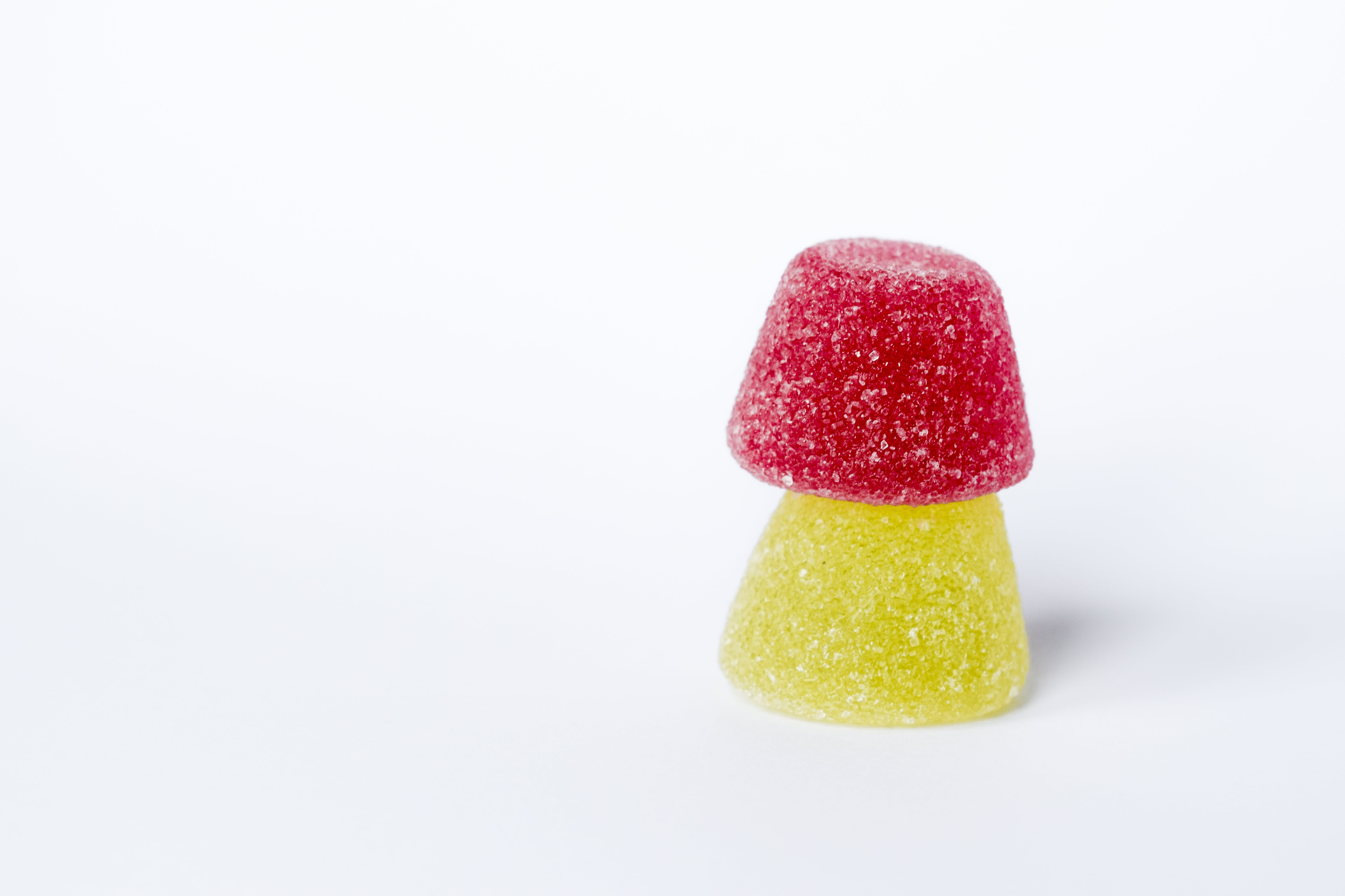 Red and Yellow Gummy Candies