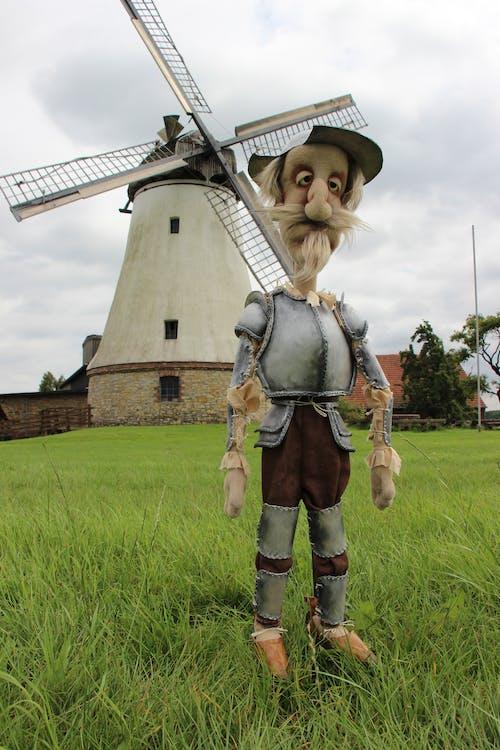 Free stock photo of novel, technique, windmill