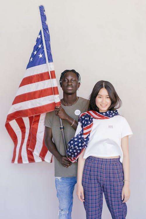 Foto stok gratis bendera amerika, demokrasi, kedudukan