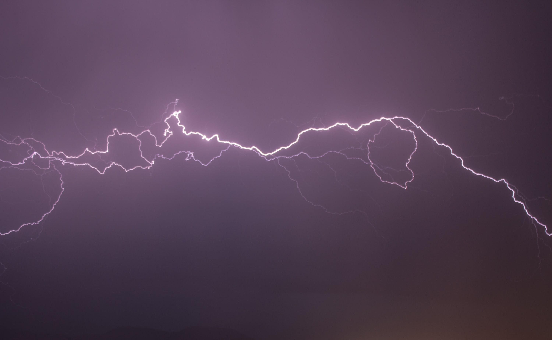 Kostenloses Stock Foto zu blitz, elektrizität, himmel, wetter